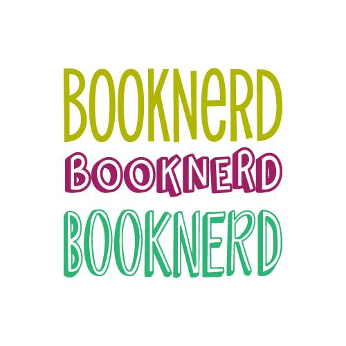 Booknerd free SVG