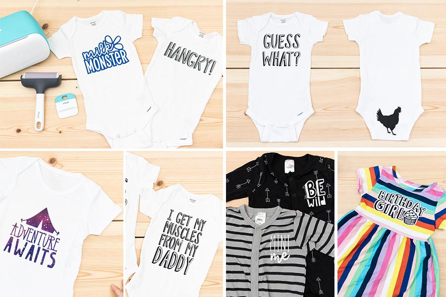 assorted onesies and babysuits