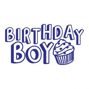 Birthday Boy Free SVG-100