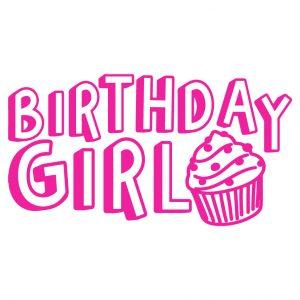 Birthday Girl Free SVG-100