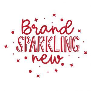 Brand Sparkling New Free SVG-100