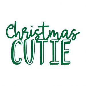 Christmas Cutie Free SVG-100