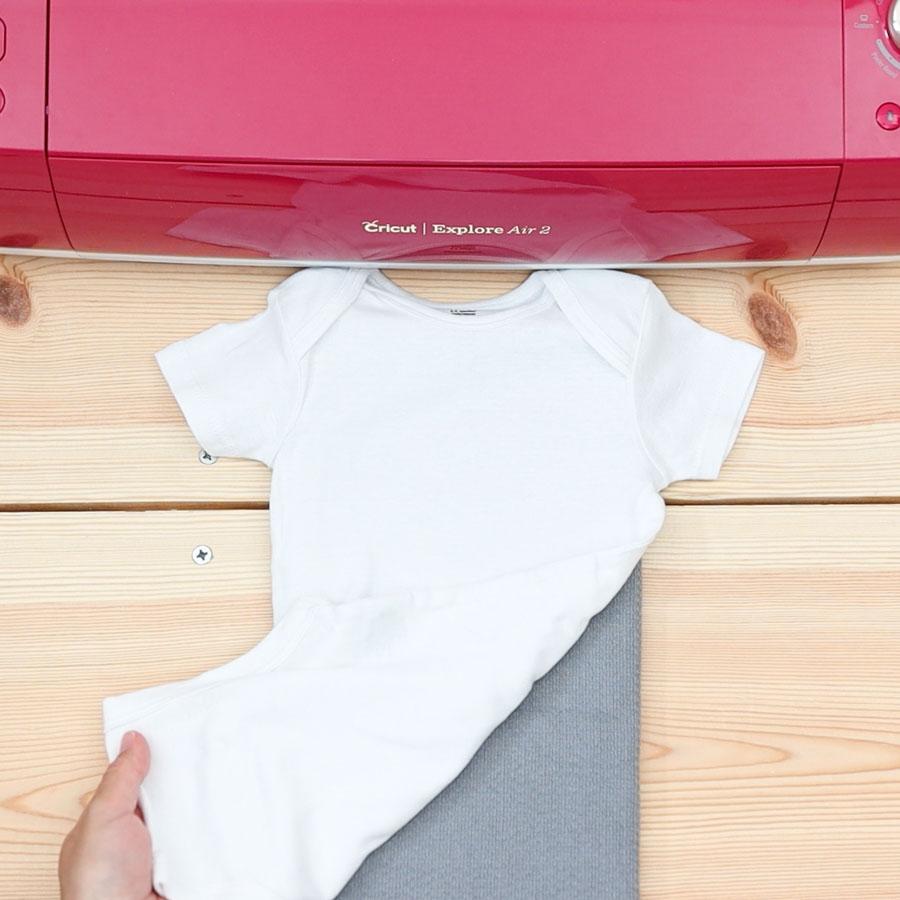 placing towel underneath oneasie