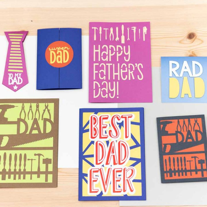 father's day card assorted