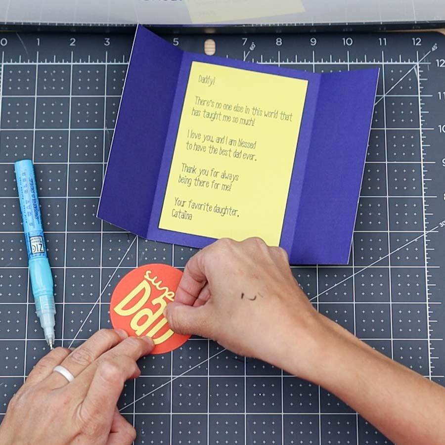 glue card