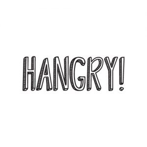 Hangry FREE SVG