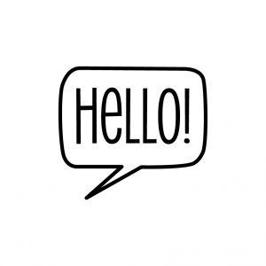 Hello Free SVG-100