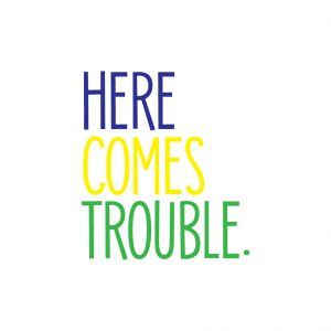 Here comes trouble Free SVG-100