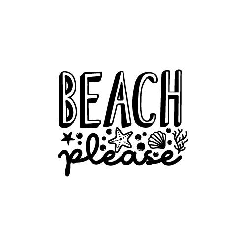 Beach Please FREE SVG