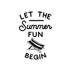 Let the summer fun begin FREE SVG