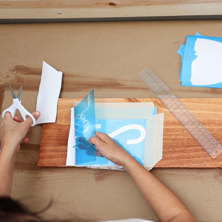cutting carrier sheet