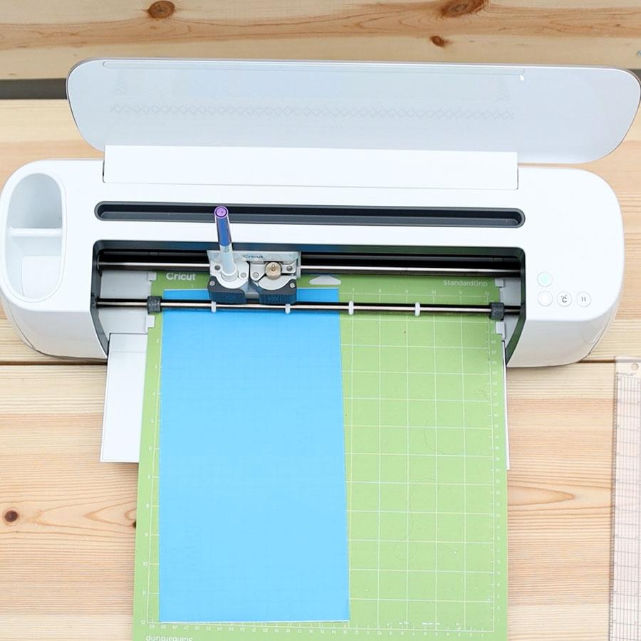 cutting stencil film with cricut machine