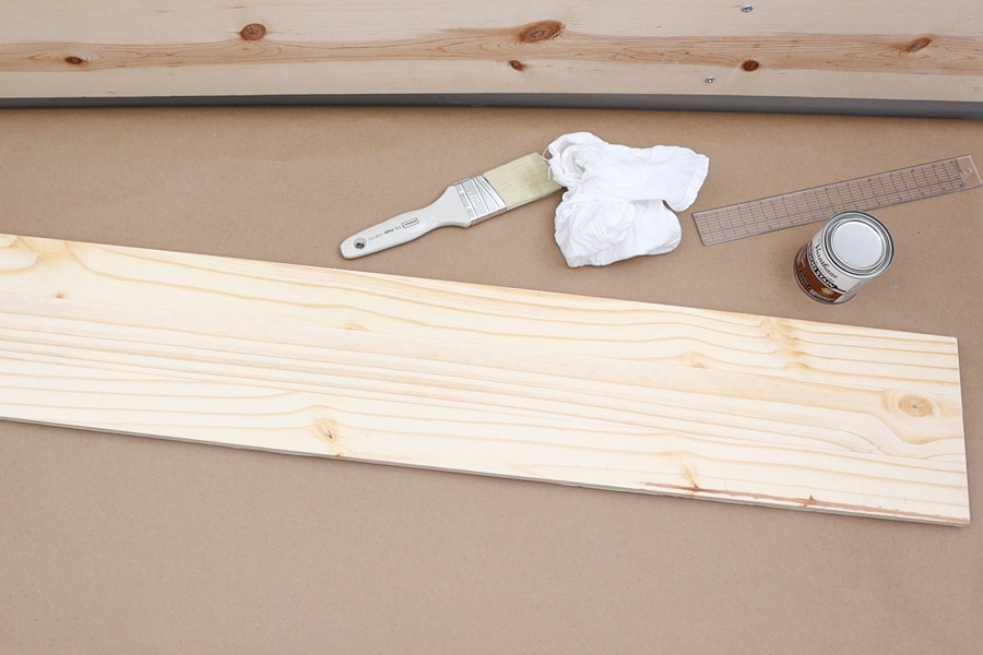 preparing wood for staining