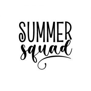 Summer Squad FREE SVG