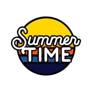 Summer Time Hello FREE SVG