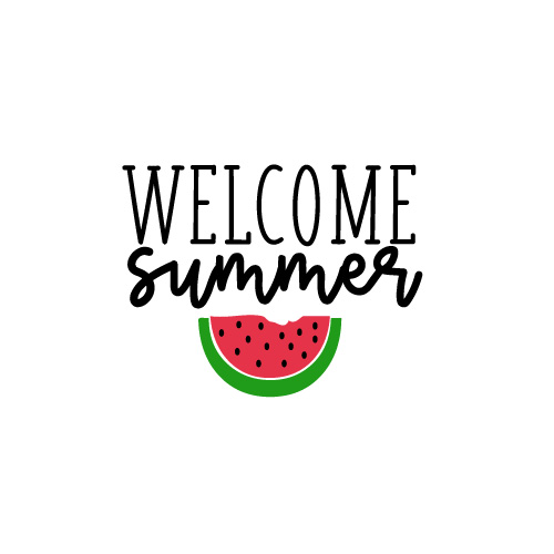 Welcome Summer FREE SVG