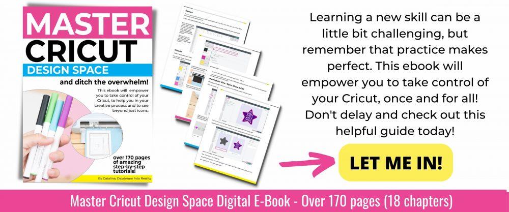 cricut design space digital ebook