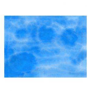 blue watercolor sheet