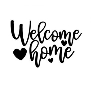 welcome home free svg