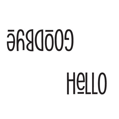 hello + goodbye Free SVG